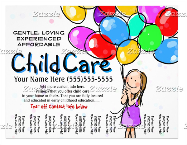 Day Care Promo Flyer