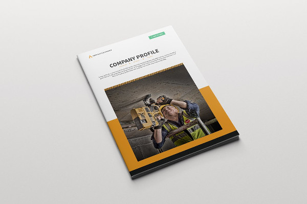 Fully Editable Brochure For Construction Company