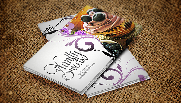 do you own a bakery shop and you want to grow your business you can do so by sharing a bakery business card with your customers so they can be in contact - Bakery Business Cards
