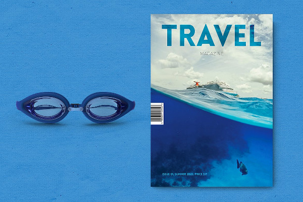 Travel is a Lifestyle Magazine template