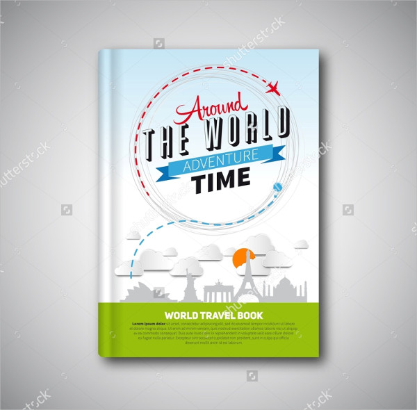 Vector Illustration Travel Magazine