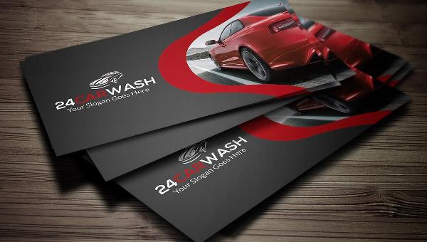 Car Wash Business Card