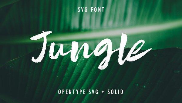 Jungle Fonts
